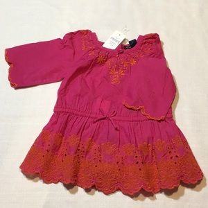 NWT Baby gap embroidered dress (3-6 months)